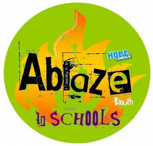 Ablaze In Schools Logo