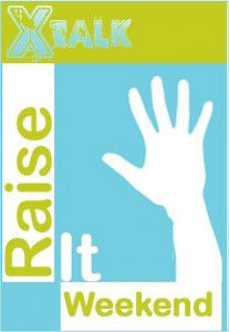 XTalk Raise It Logo