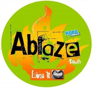 Ablaze Live It Logo