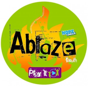 Ablaze Play It Logo