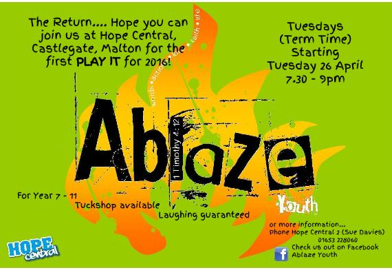 Ablaze Tuesdays